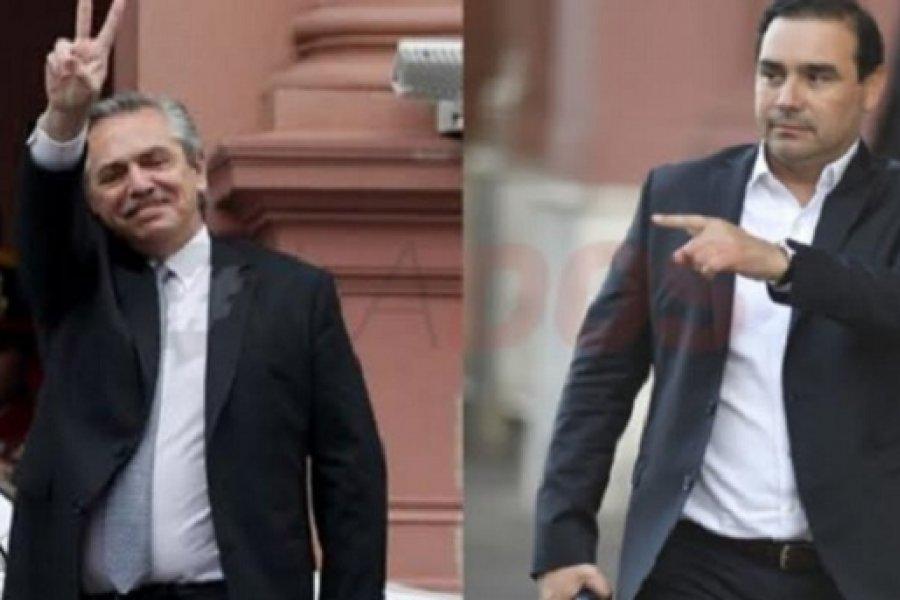 Valdés en cumbre de gobernadores con Alberto Fernández en el Chaco