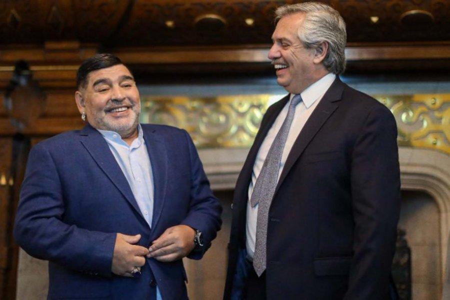 Alberto Fernández decretó tres días de duelo nacional por la muerte de Maradona