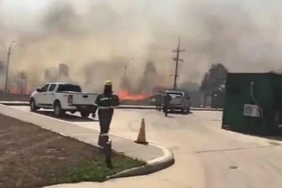 Lograron controlar los incendios en Yacyretá
