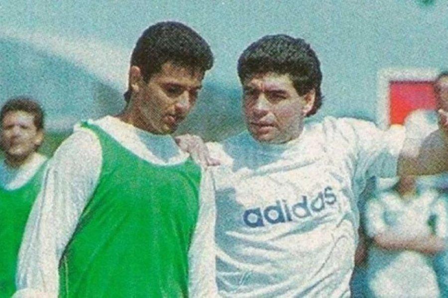 El paso de Maradona por Mandiyú hace 26 años