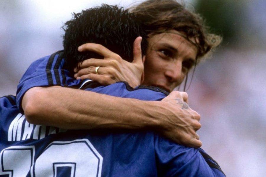 """Caniggia y su dolor por la muerte de Maradona: """"Estoy devastado, era mi hermano del alma"""""""