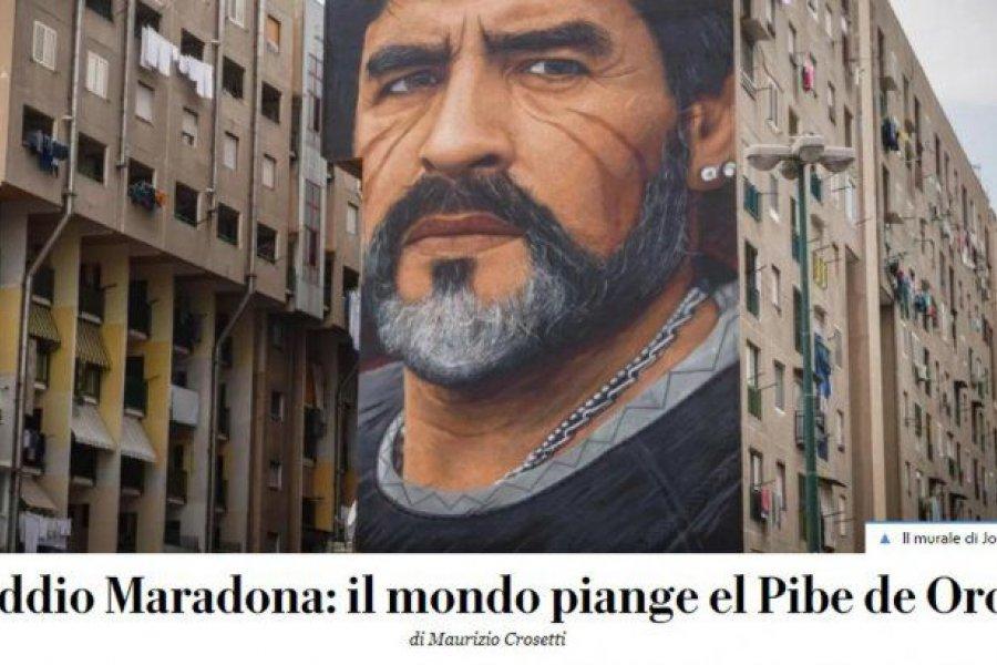 Los principales diarios del mundo se hacen eco de la muerte de Diego Maradona