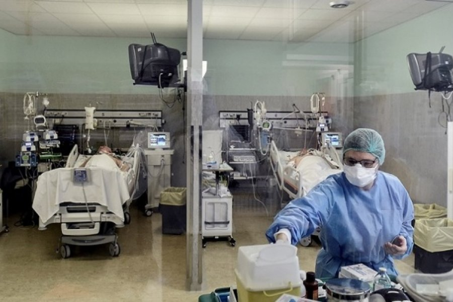 Chaco tiene 1.547 casos activos de Covid: 13 pacientes graves