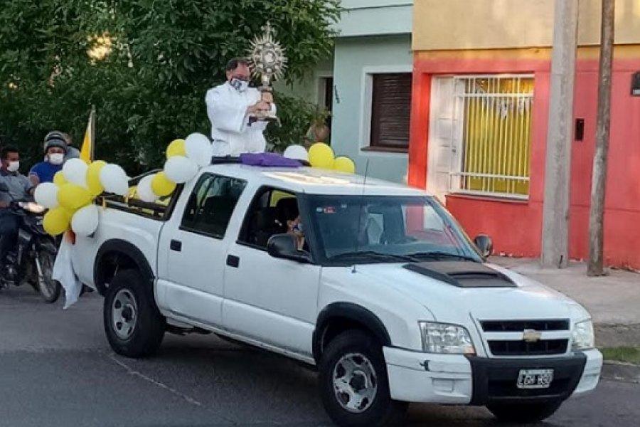 Celebraron en Goya aniversario de la capilla de Adoración Perpetua