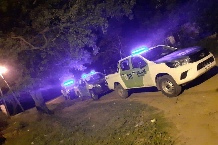 Un hombre resultó herido de gravedad y detuvieron a dos personas