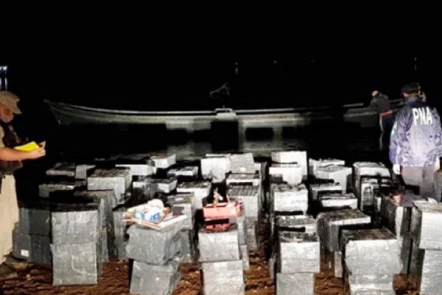 Prefectura secuestró una lancha y un cargamento de mercadería valuados en casi 2 millones de pesos