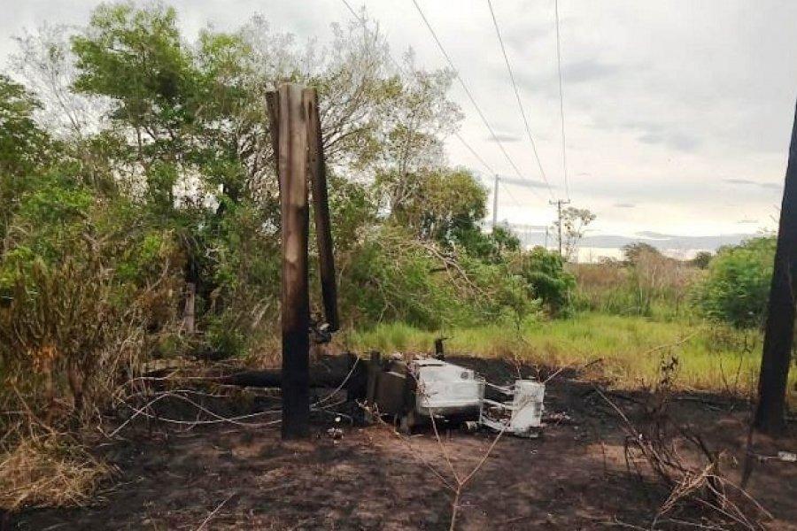 Vecinos de Yacarey y San Isidro sin luz y sin agua