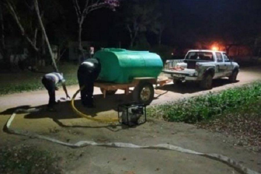 Peligro sanitario y drama estructural en Itatí por reparto de agua a 2 mil familias