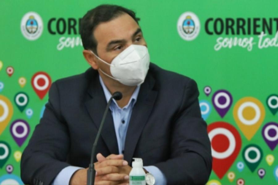 Valdés convocó a sesiones extraordinarias para tratar el Presupuesto 2021