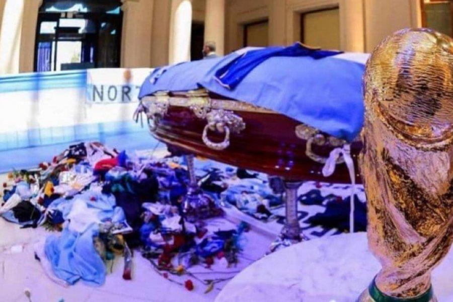 Pumpido quería que Maradona se lleve la Copa del Mundo en el ataúd