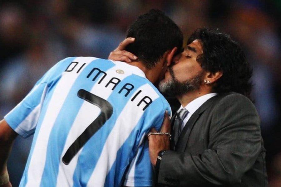 """Di María: """"Maradona te llenaba el corazón, te hacía ilusionar"""""""
