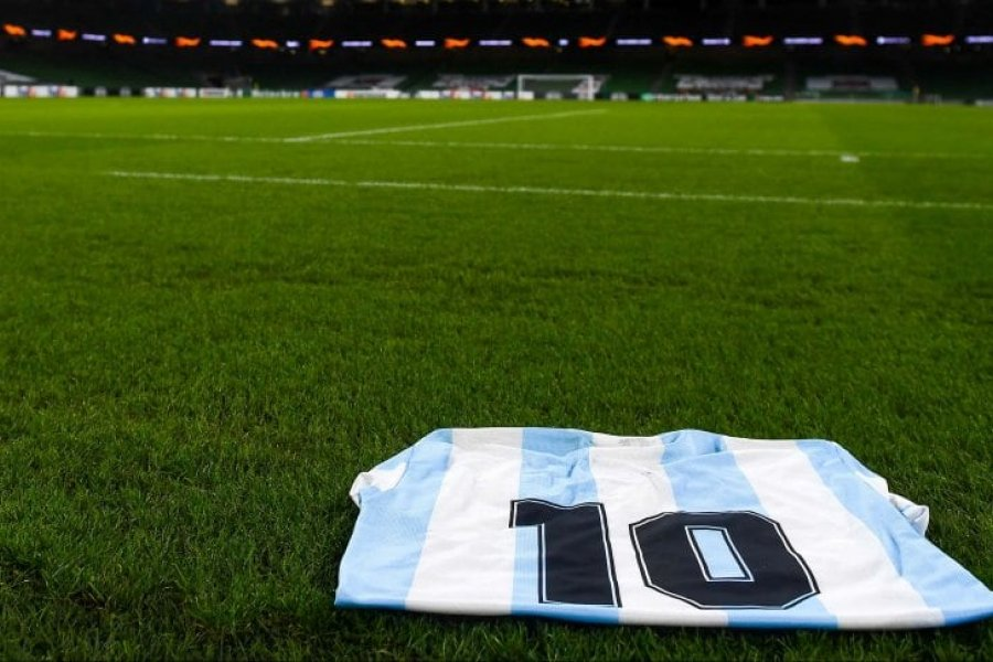 Cómo será el homenaje a Maradona en la Copa de la Liga Profesional