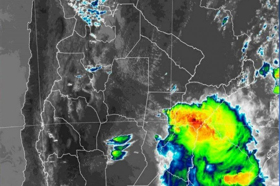 Alerta por lluvias y tormentas fuertes para Corrientes