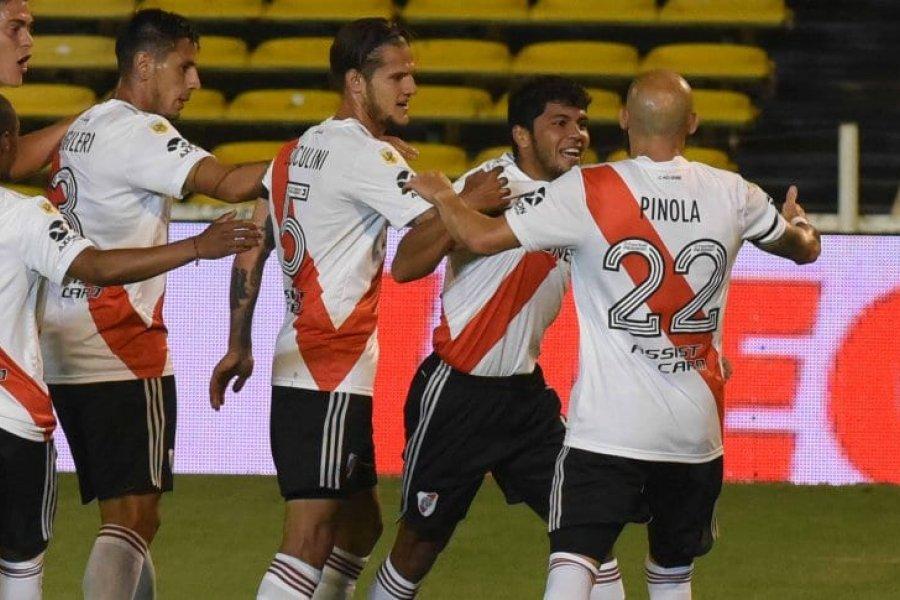 River le ganó a Rosario Central y selló la clasificación