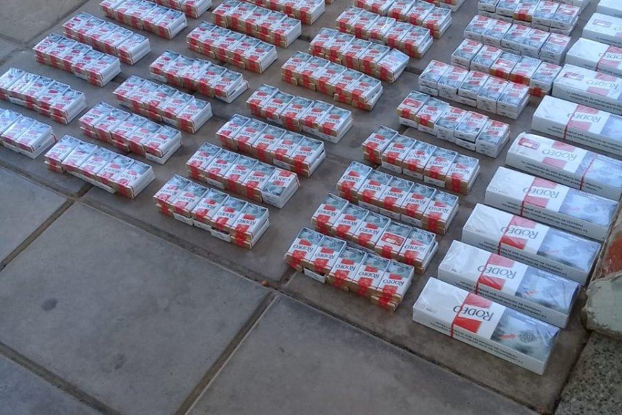 Secuestraron casi 400 atados de cigarrillos sin aval aduanero