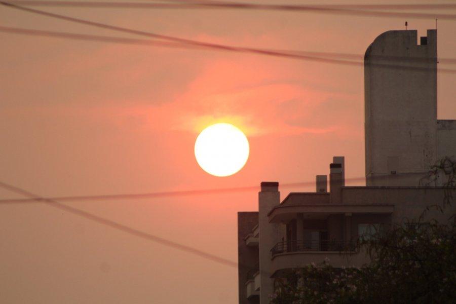 La sensación térmica rozó los 40º y se esperan tormentas para Corrientes