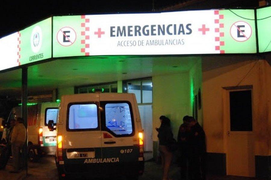 Murió un motociclista que estaba grave tras sufrir un siniestro vial en El Sombrero