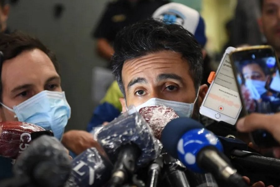 Leopoldo Luque se presentó en la fiscalía para declarar por la muerte de Maradona