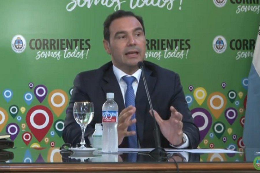 Valdés: Capital y Paso de los Libres seguirán en Fase 3 una semana más