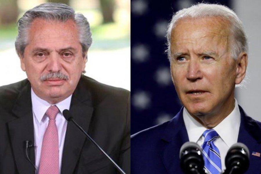 Alberto Fernández mantuvo una conversación telefónica con Joe Biden
