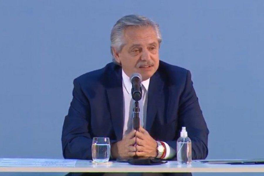 """Alberto sobre el Plan Gas: """"Permitirá un ahorro de divisas de u$s9.300 millones"""""""