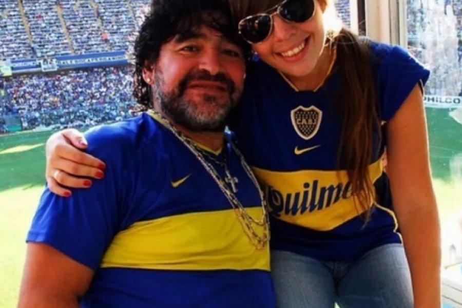 Dalma Maradona explicó por qué fue a ver a Boca: No quería dejar el palco vacío