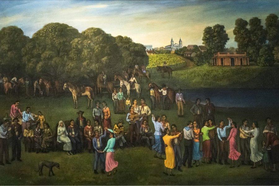 El chamamé resuena en el Museo de Bellas Artes con una exposición de obras