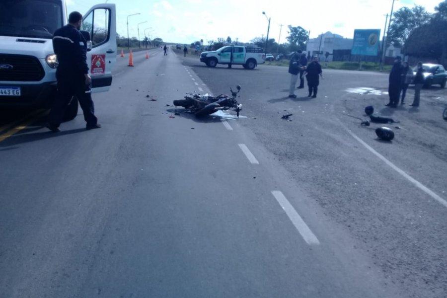 Una mujer murió arrollada por un camión en Ruta 5