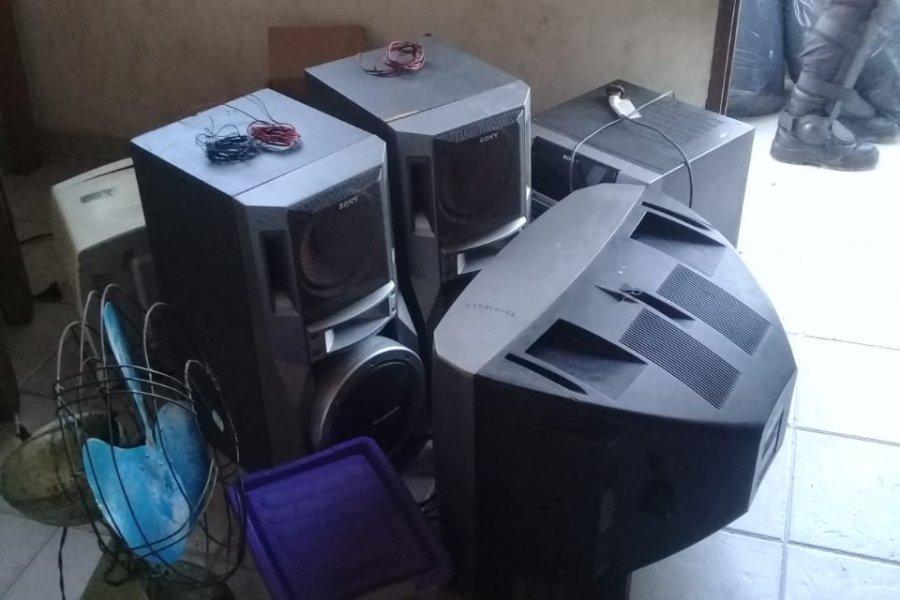 Allanaron una vivienda y recuperaron elementos robados