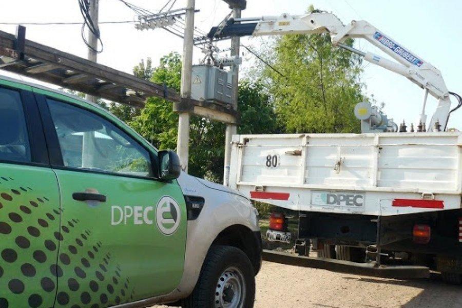 Interrumpirán el servicio de energía eléctrica en Capital y Santo Tomé