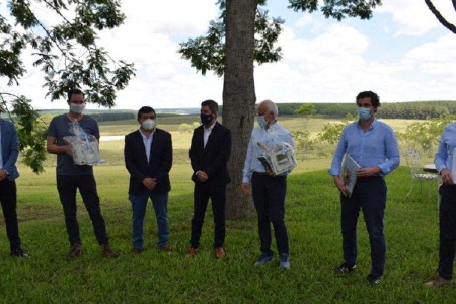 Virasoro: El subsecretario de Industria compartió una reunión con los representantes de ACONtimber