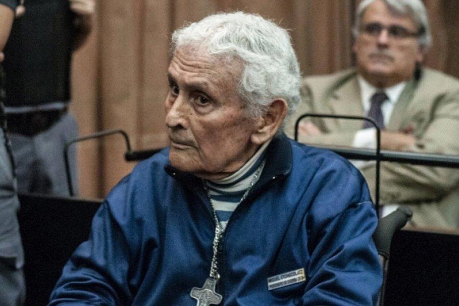 El represor Miguel Etchecolatz estrenó su octava condena a prisión perpetua