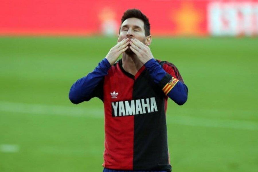 Messi y Barcelona, multados por el homenaje a Diego Maradona
