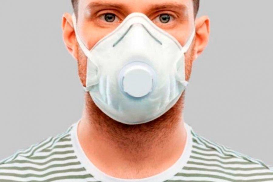 La OMS recomienda no usar barbijos con válvula para protegerse del coronavirus