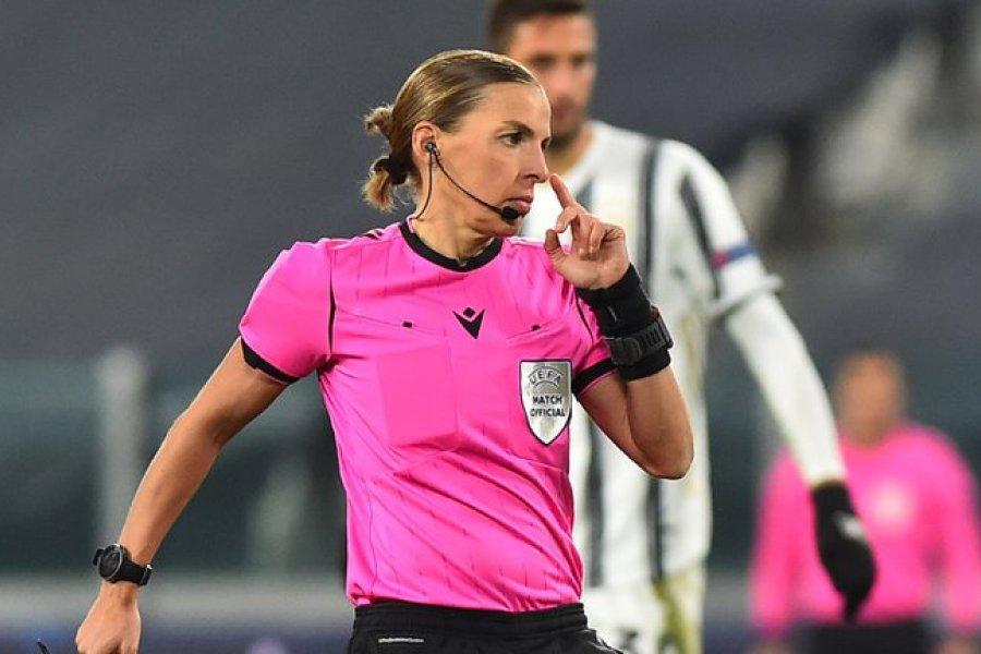 Por primera vez una mujer dirigió un partido de Champions League