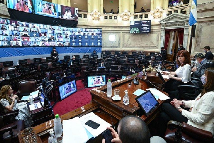 El Senado aprobó el proyecto en revisión que reasigna partidas a la Ciudad de Buenos Aires