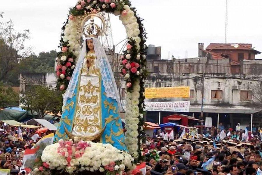 Itatí suspendió las peregrinaciones hacia la Basílica de la Virgen