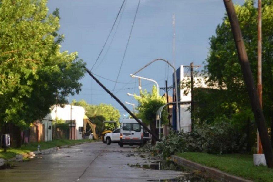 Continúa la asistencia a familias y la reparación de los daños