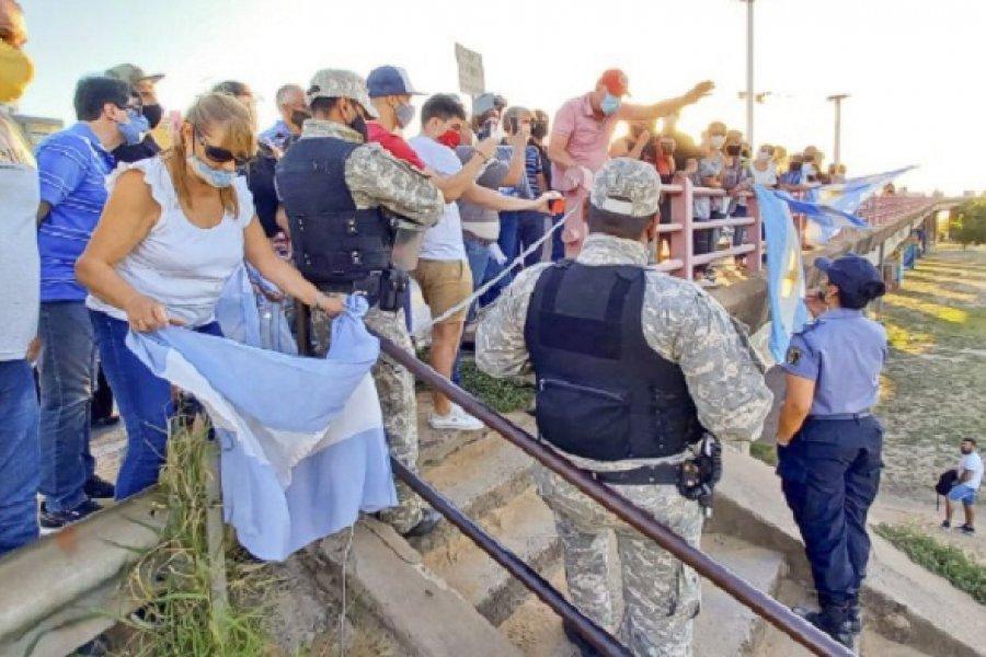 Chaqueños y correntinos volverán a manifestarse por el cobro de los hisopados