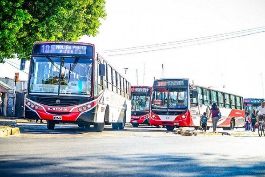Podría aumentar hoy la tarifa del Transporte Público