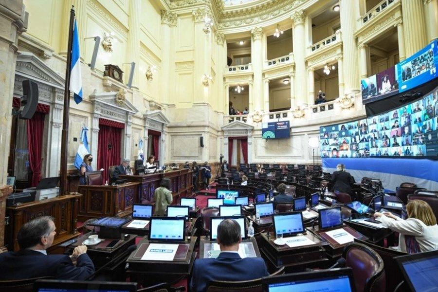 El Senado aprobó la Ley de Manejo del Fuego