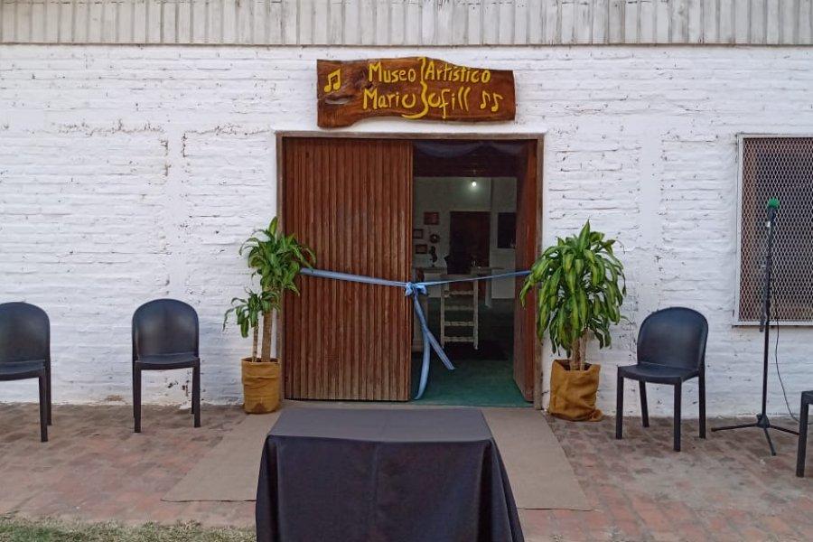 Inauguraron el Museo Artístico Mario Bofill en Loreto