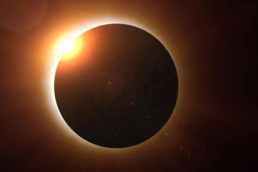 El inédito eclipse solar que se podrá ver en Argentina