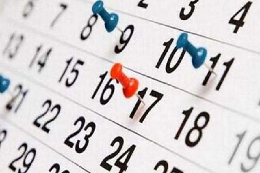 Feriados: cuándo es el próximo fin de semana largo