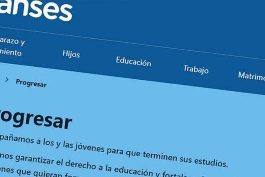 ANSES anunció el aumento en las Becas Progresar