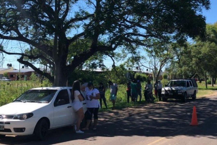 Turistas varados: Intentaron ingresar a Itatí sin permisos