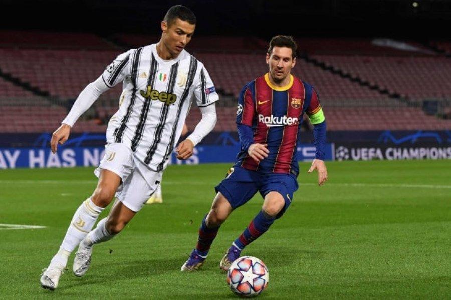 Juventus goleó al Barcelona de Messi en la Champions League
