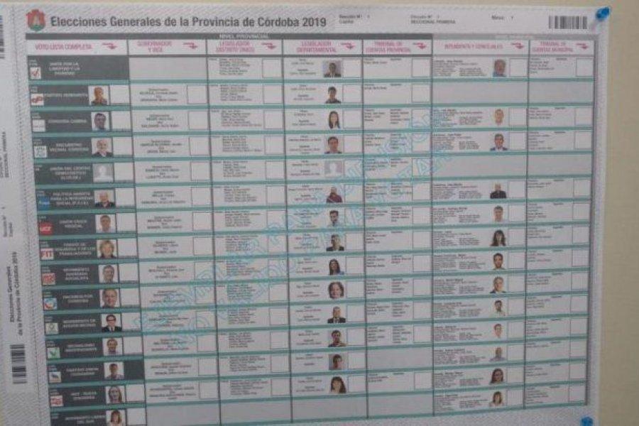 Diputados: lavagnismo presentó proyecto para una boleta única de papel