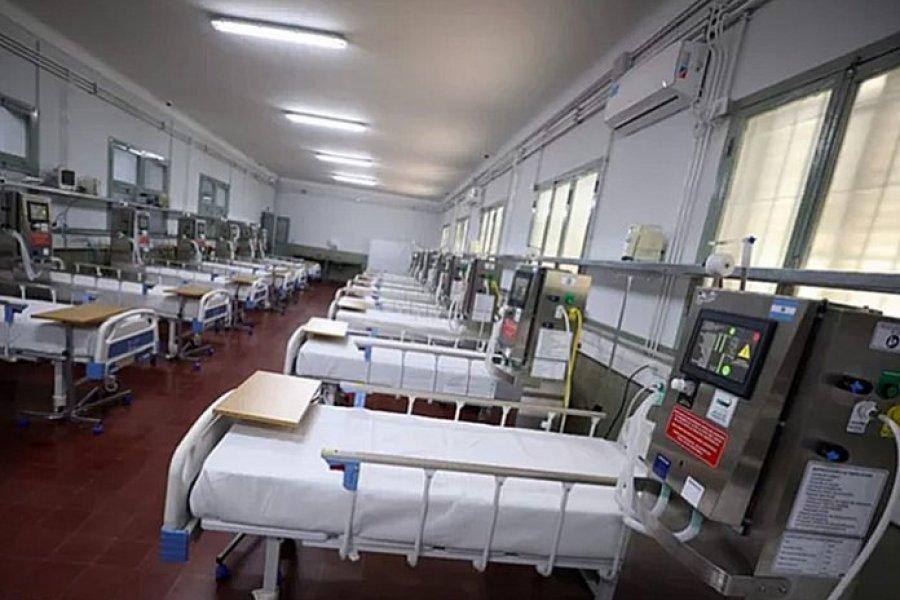 Por el crecimiento de casos, habilitaron la tercer etapa del Hospital de Campaña