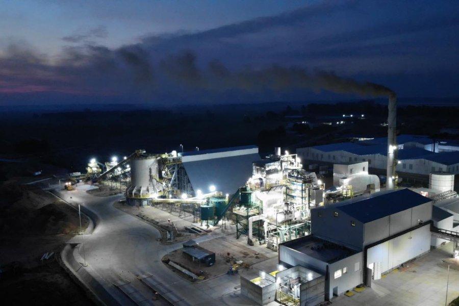 Inauguraron una planta de generación Energética por Biomasa en Santa Rosa
